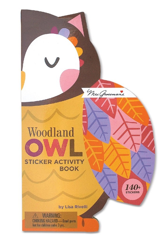 Sticker Activity Book | Woodland Owl