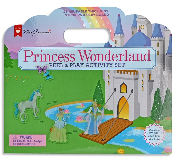 Peel & Play Activity Set | Princess Wonderland