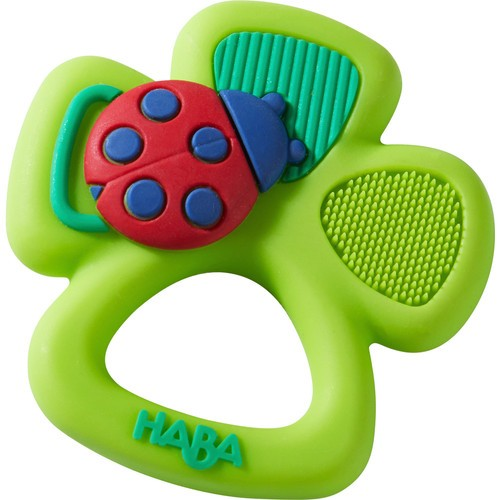Lucky Shamrock silicone teether