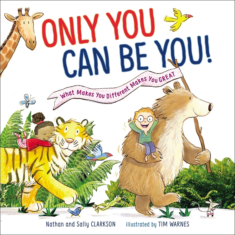 Only You Can Be You! book
