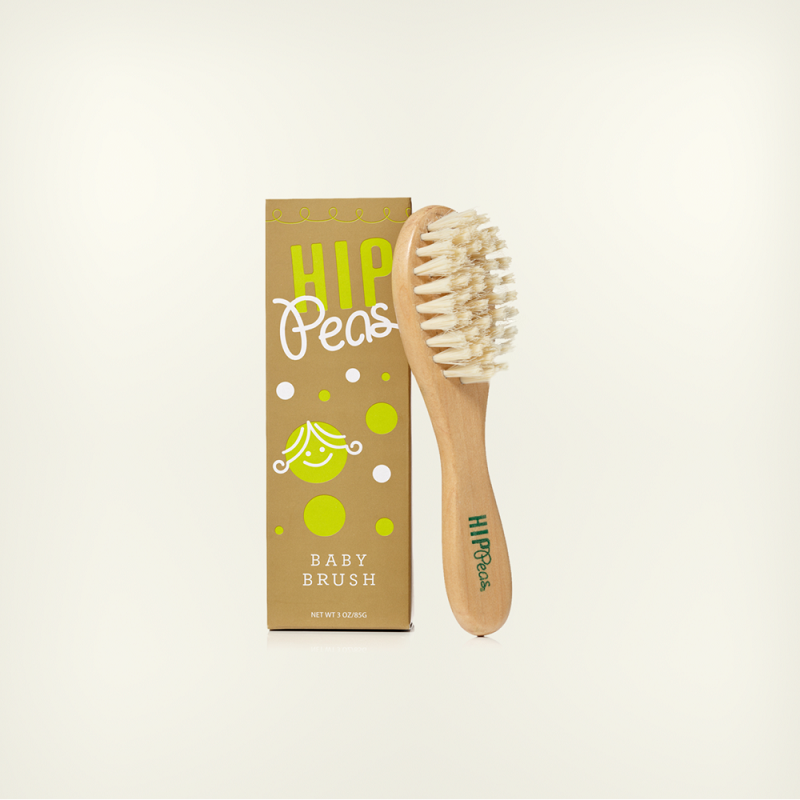 Hip Peas Baby Brush