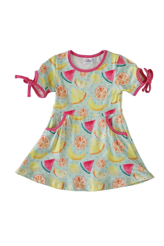 Summer Fruits Dress