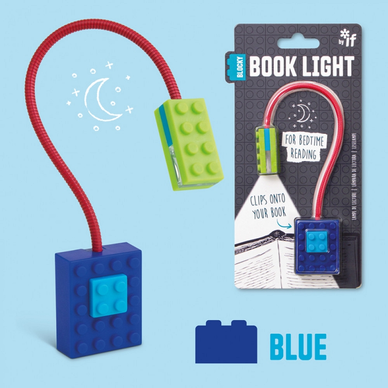 Blocky Book Light | Blue