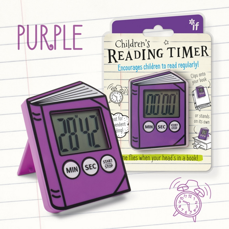 Children's Reading Timer | Purple