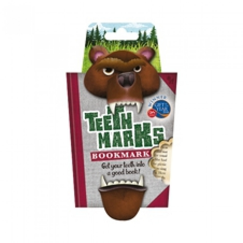 TeethMarks Bookmark | Bear