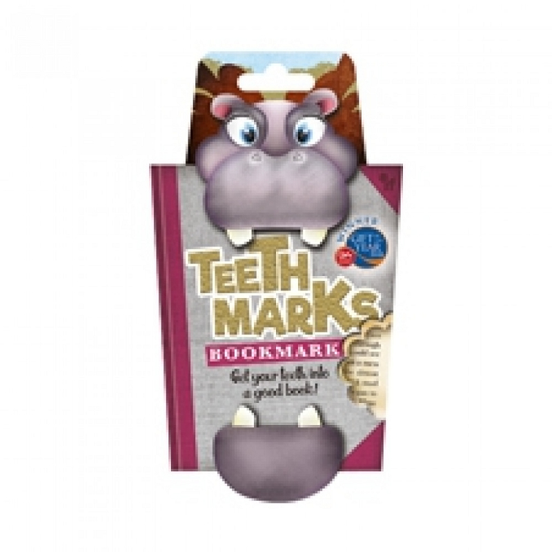 TeethMarks Bookmark | Hippo