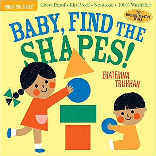 Indestructibles: Baby, Find the Shapes