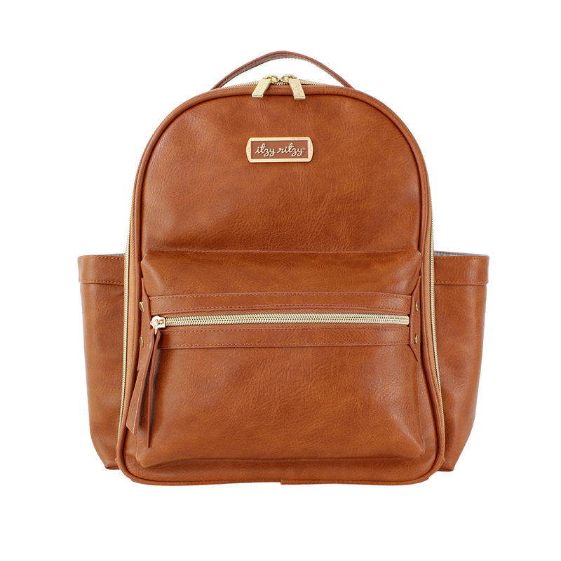 Itzy Mini Diaper Bag | Cognac