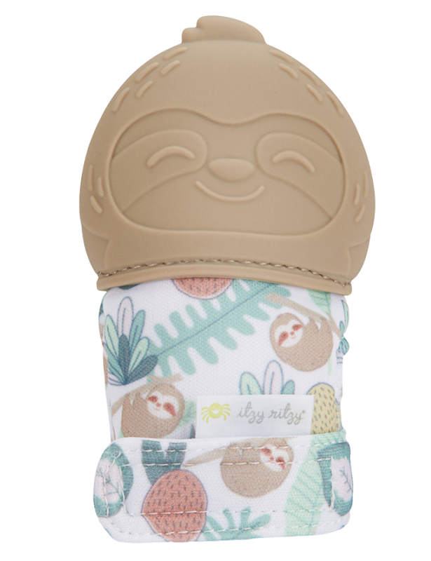 Itzy Mitt Teething Mitt | Sloth