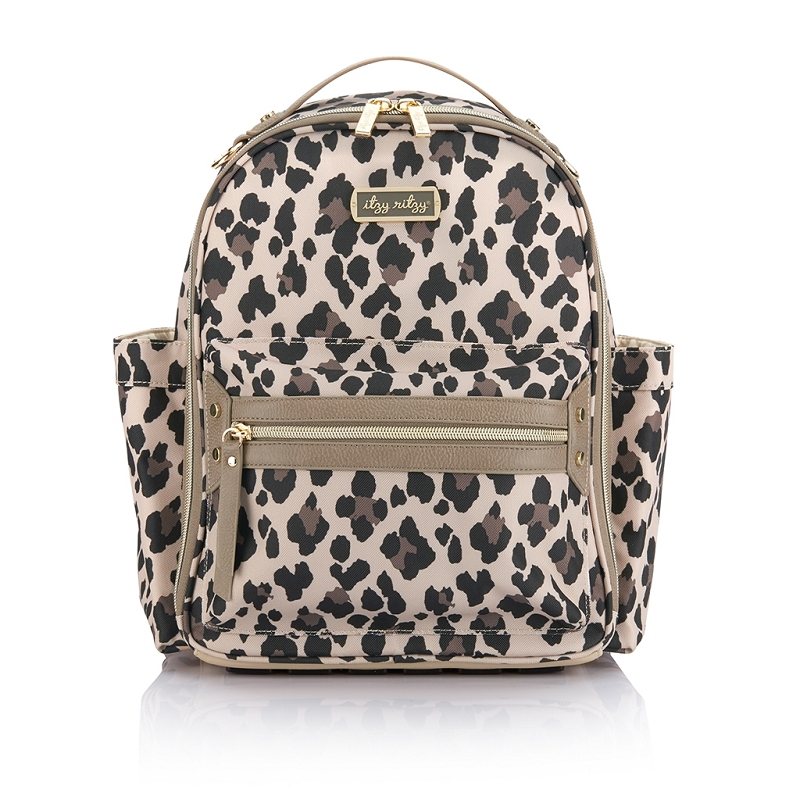 Itzy Mini Diaper Bag | Leopard