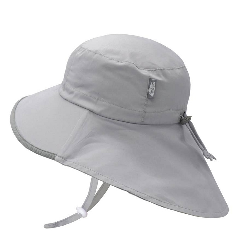 Cotton Adventure Hat | Grey