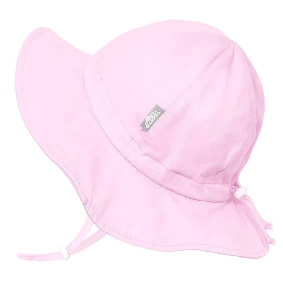 Cotton Floppy Sun Hat | Pink