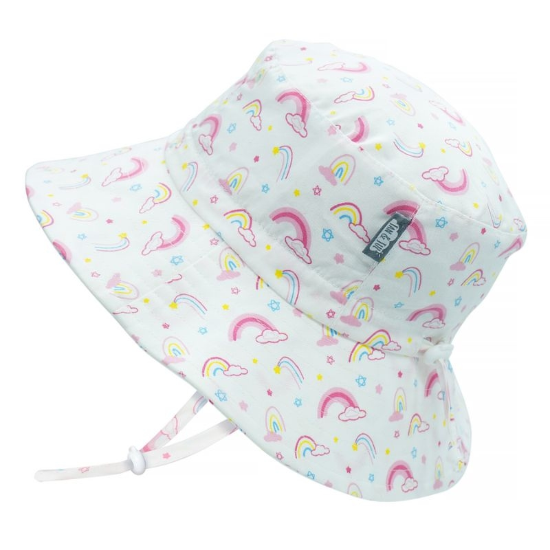 Cotton Bucket Hat | Rainbow