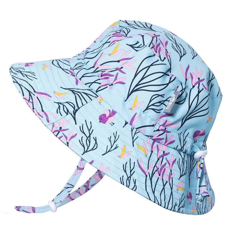 Aqua Dry Bucket Hat | Spring Flowers