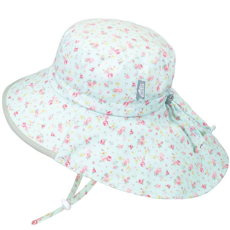 Cotton Adventure Hat | Retro Rose