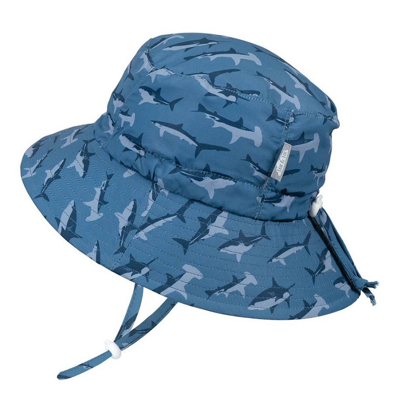 Aqua Dry Bucket Hat | Sharks