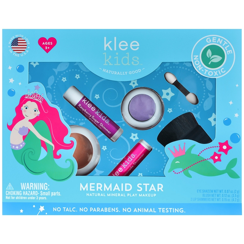 Klee Natural Makeup Kit | Mermaid Star