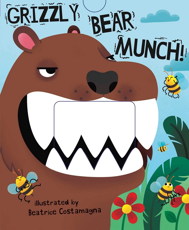 Grizzly Bear Munch book