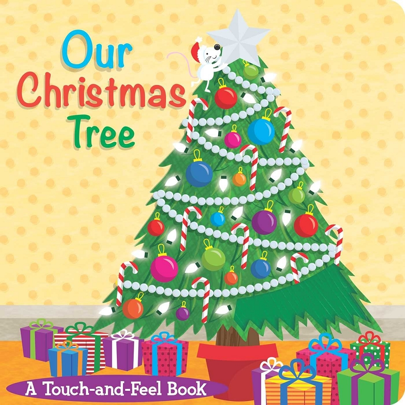 Our Christmas Tree touch-and-feel book