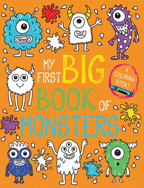 My First Big Book of Monsters coloring book