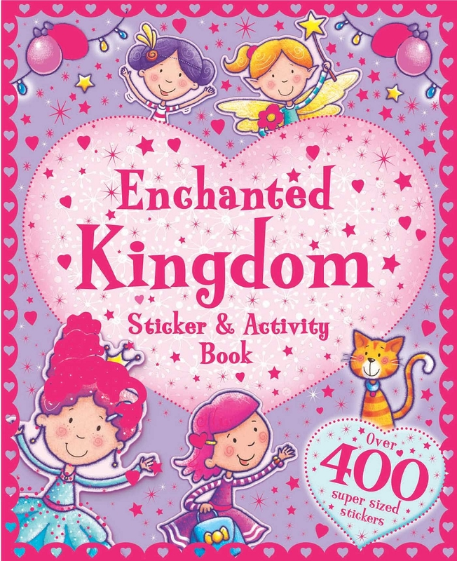 Enchanted Kingdom Sticker & Activity Book