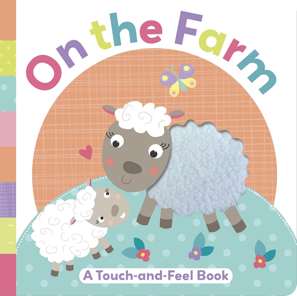 On the Farm touch-and-feel book