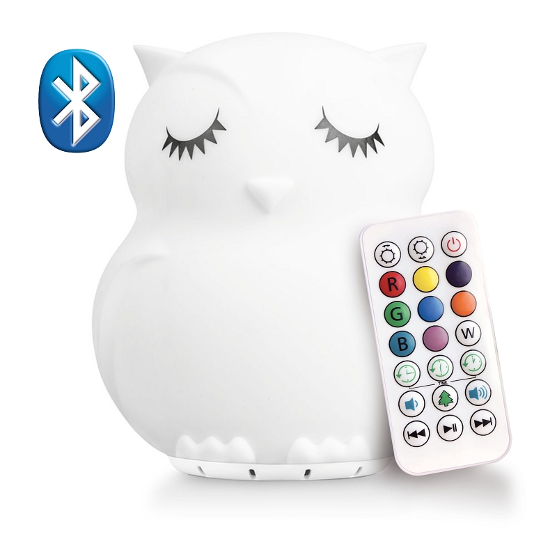 LumiPets Bluetooth Night Light | Owl