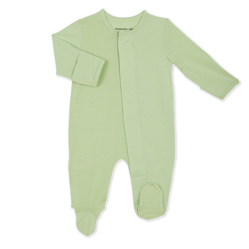 Modal Magnetic Footie | Pastel Green