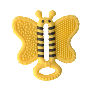 Teether Brush | Bee