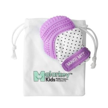 Munch Mitt | Green Polka Dot