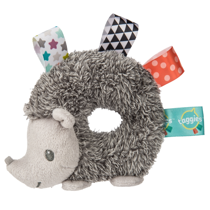 Taggies Fabric Rattle | Heather Hedgehog