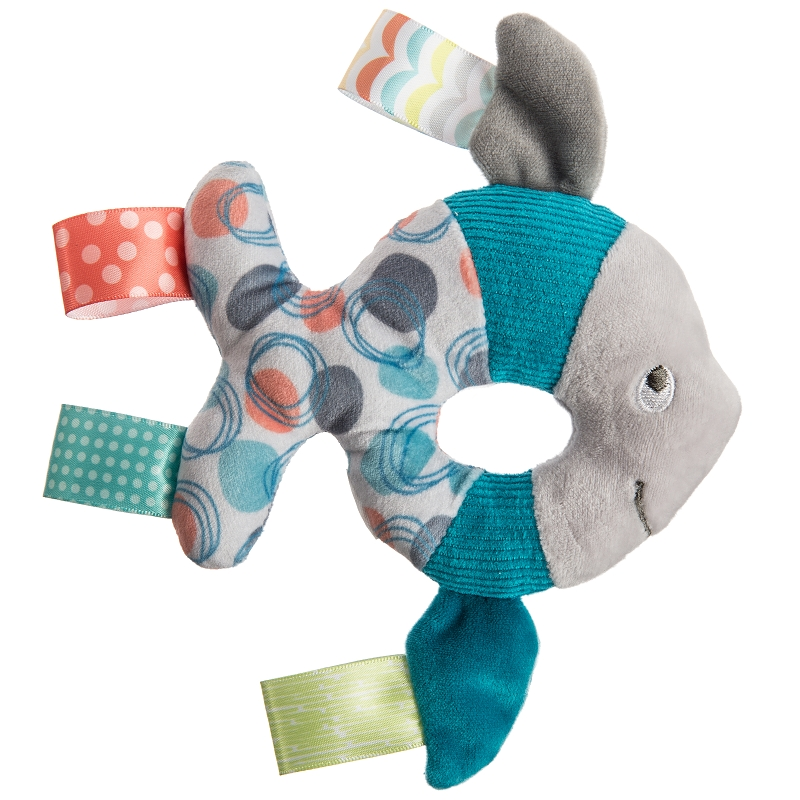 Taggies Fabric Rattle | Sleepy Seas