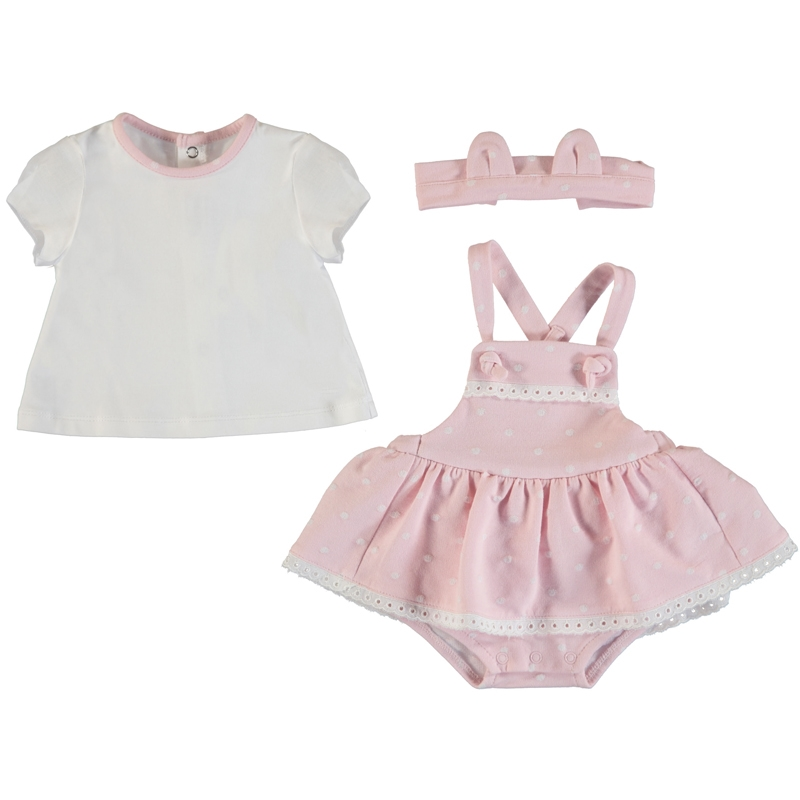 Marley Skirted Onsie 3 pc Set