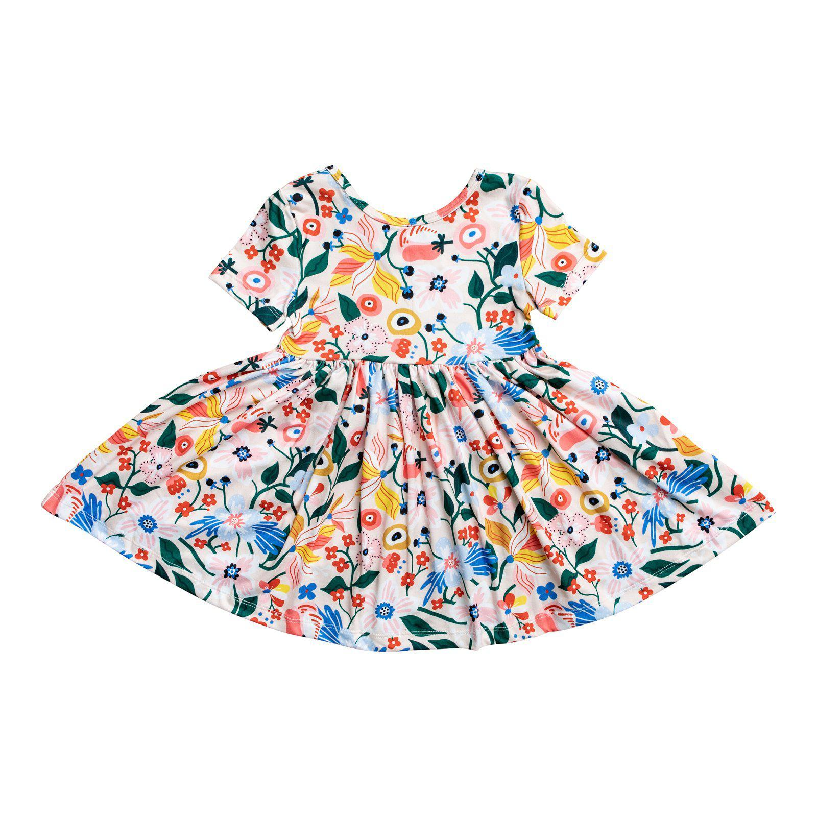 Flower Garden Twirl Dress