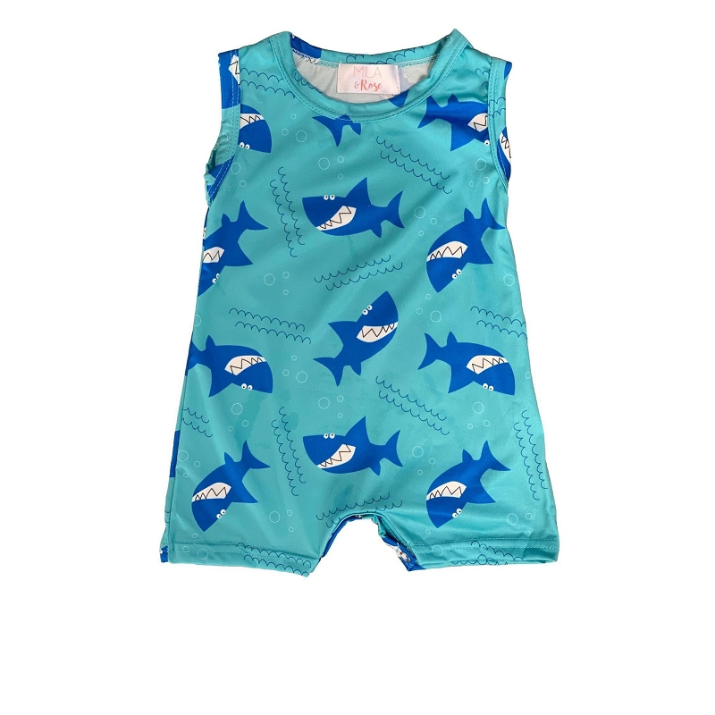 Shark Bite Romper