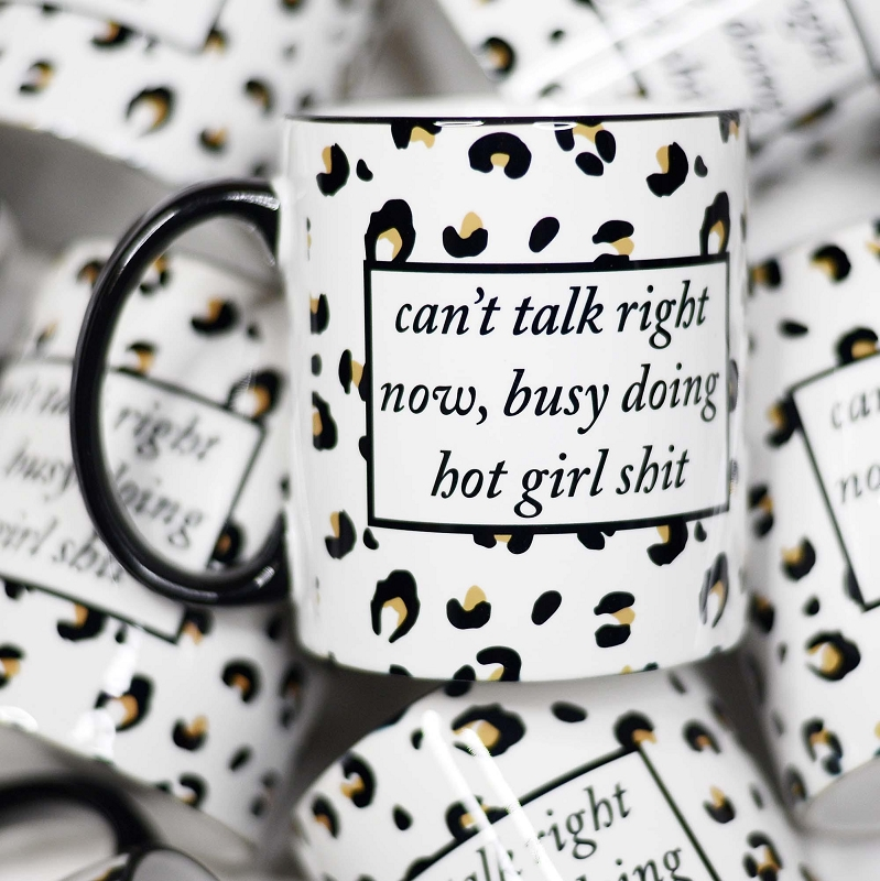 Ceramic Mug | Can't Talk Right Now