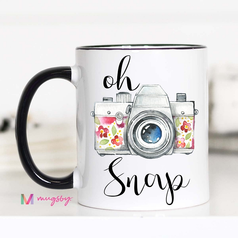 Ceramic Mug | Oh Snap