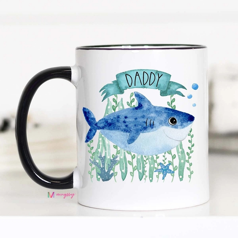 Ceramic Mug | Daddy Shark