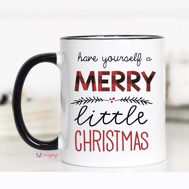 Ceramic Mug | Merry Little Christmas