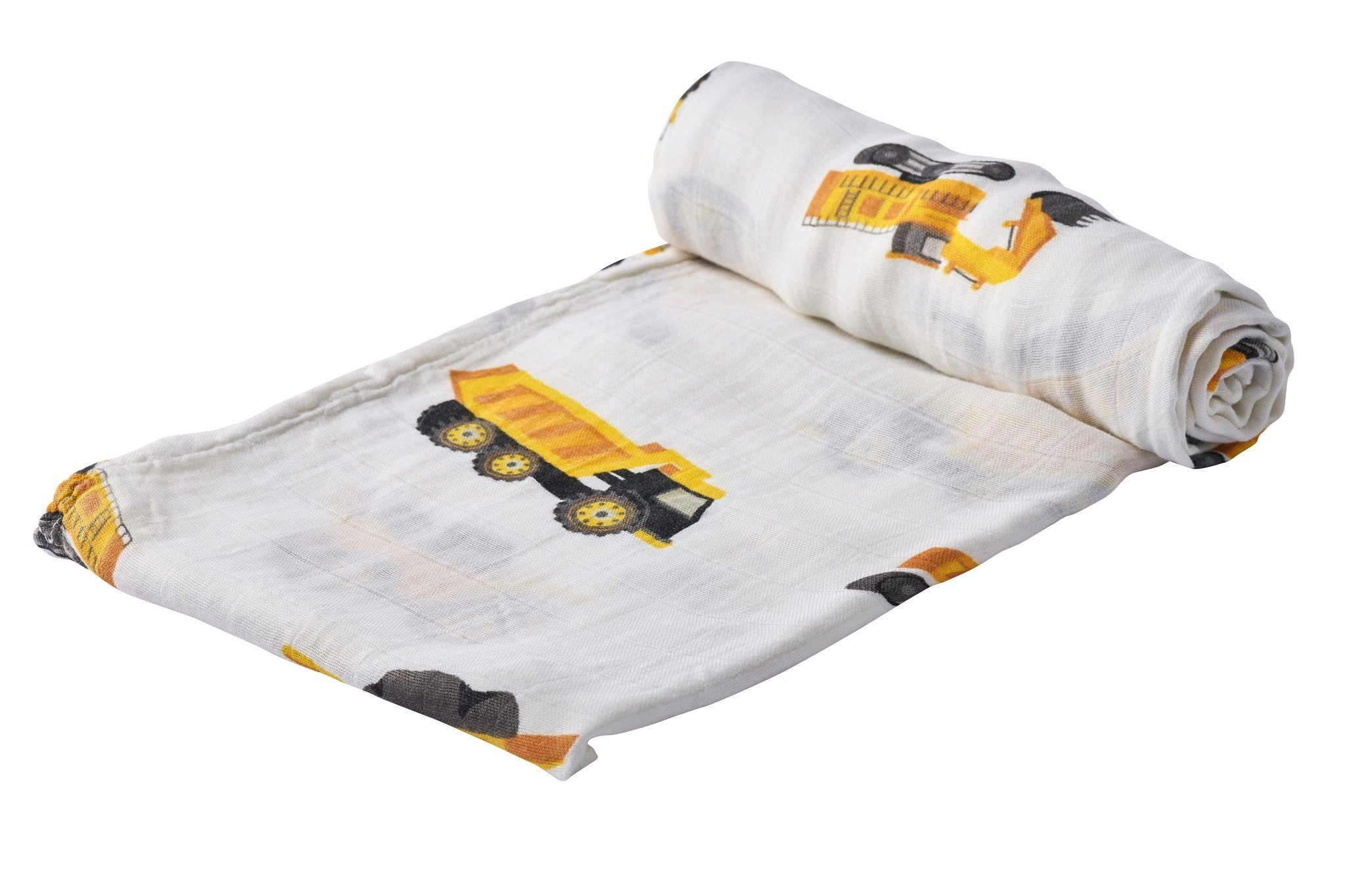 Bamboo Muslin Swaddle | Yellow Digger