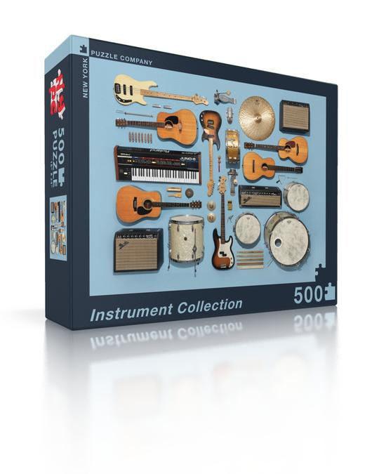 Instrument Collection 500 pc puzzle