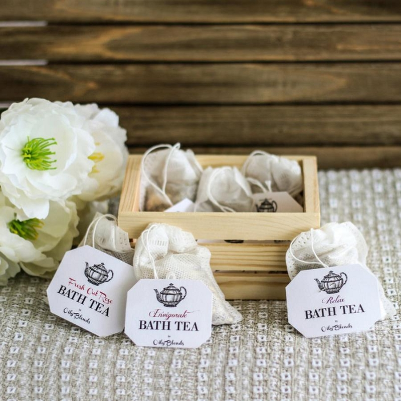 Essential Oil Bath Tea - Single Bag