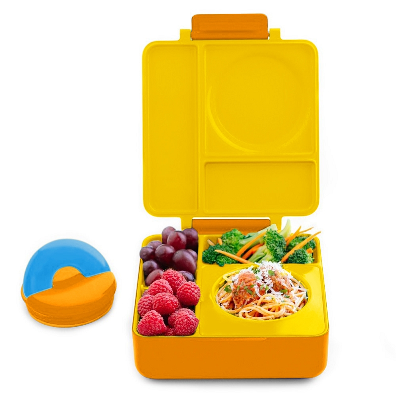 Omiebox Hot & Cold Bento box | Sunshine