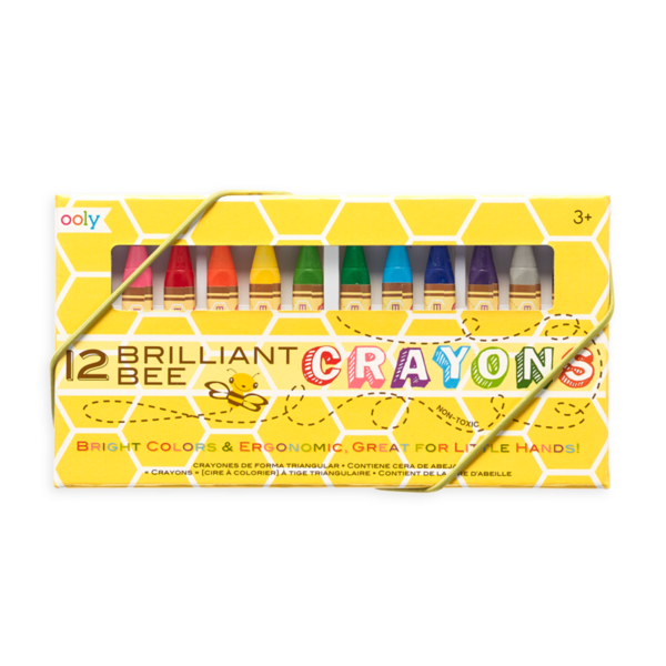 Brilliant Bee Crayons | Set of 12