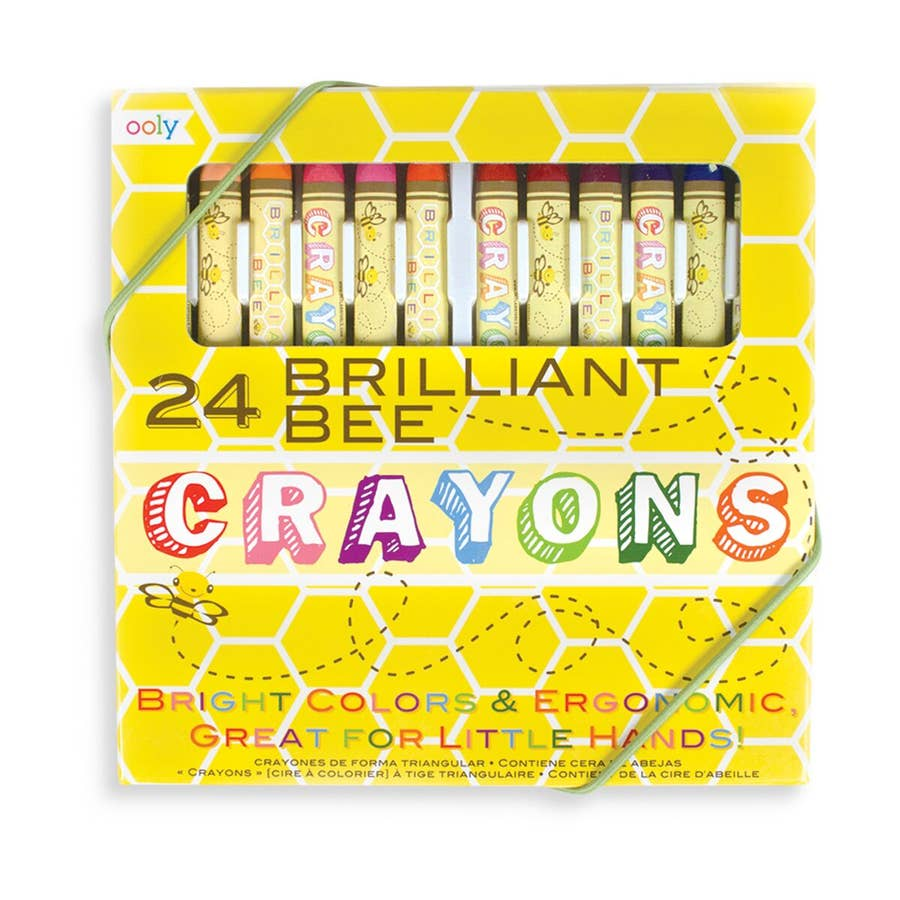 Brilliant Bee Crayons | Set of 24
