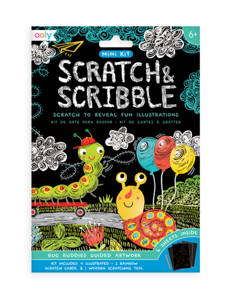 Scratch & Scribble Mini Kit| Bug Buddies