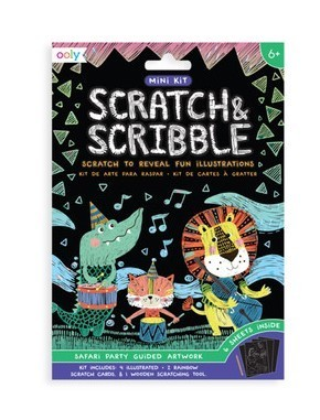 Scratch & Scribble Mini Kit| Safari Party