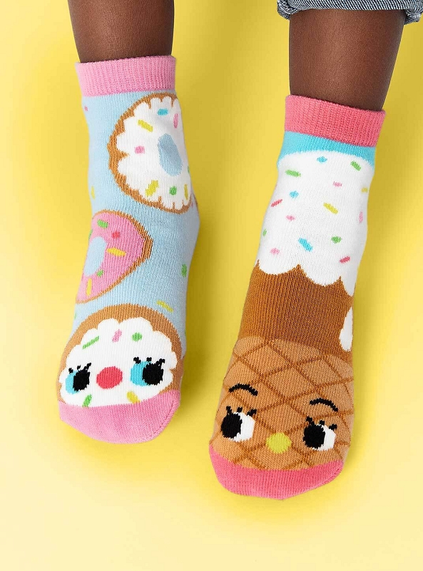 Pals Mismatched Socks | Donut & Ice Cream