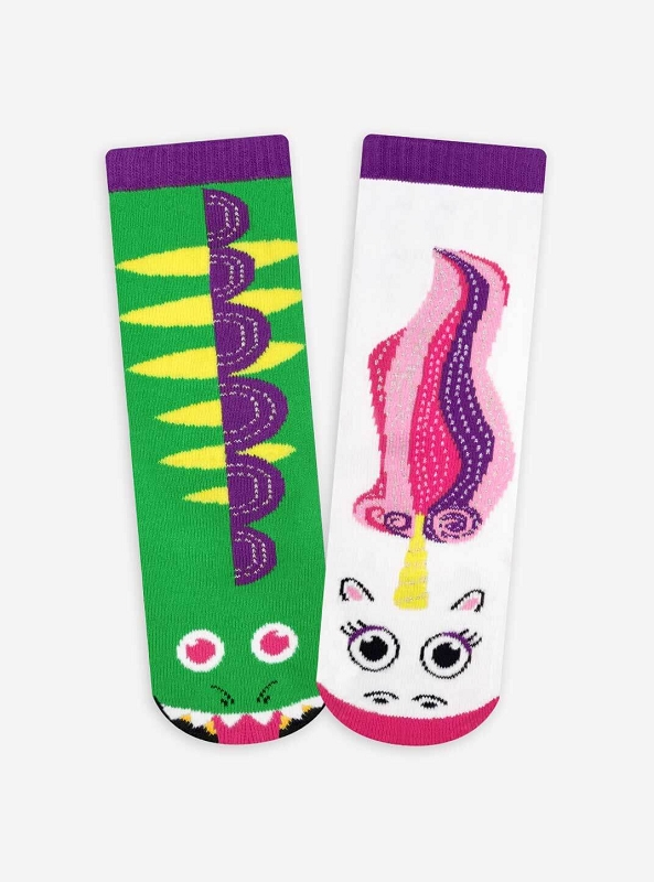 Mismatched Socks | Dragon & Unicorn Pals