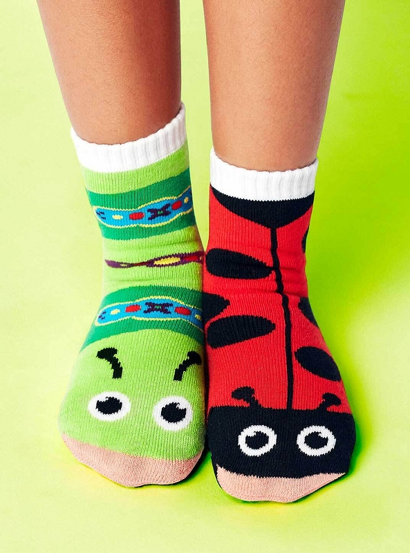 Pals Mismatched Socks | Ladybug & Caterpillar